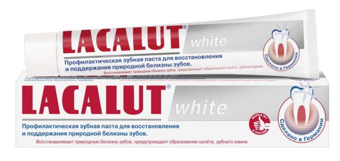 Lacalut weiß