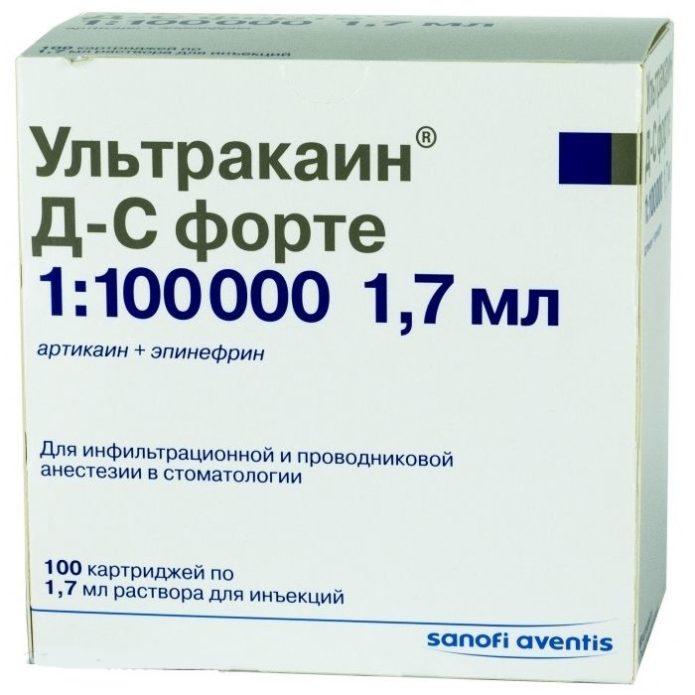 Ultracain D-S Forte